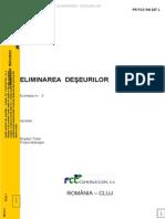PR FCC RO 327 L - Eliminare Deseuri
