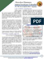 Boletin 9 de Derechos Humanos - Abril de 2014