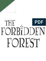 HP Signs Forbidden-Forest