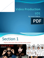 the need for music videos presentation