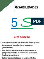 RESPONSABILIDADES - 5S