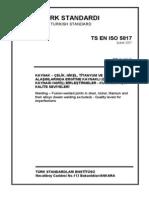 TS EN ISO 5817