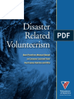 Best Practices Manual - Disaster Related Volunteerism-1