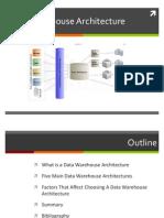 DataWarehouse Arch