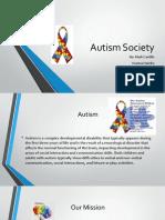 autism society presentation