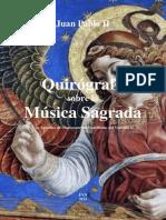 FVN - Juan Pablo II - Quirógrafo sobre la Música Sagrada