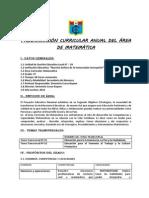 Programacion Anual de Matematica 2014_ccesa