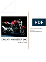 Ducati Monster 600 Engine Assignment