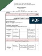 Rubrica de Evaluacion Actividad Unidad1