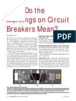 Circuit Breaker Markings Iaei