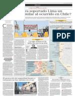 ¿Hubiera Soportado Lima Un Terremoto Similar Al Ocurrido en Chile?