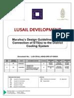 ETS Design Guidelines - Lusai, Qatar