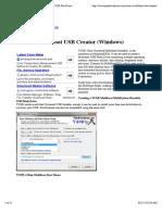 YUMI - Multiboot USB Creator (Windows)  USB Pen Drive Linux