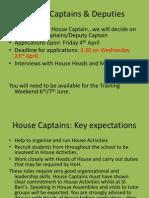 House Captains & Deputies
