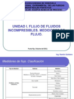 Medidores de flujo características