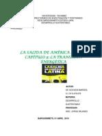 Ensayo La Salida de America Latina Gabaldon