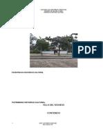 Plan Basico de Ordenamiento Territorial Patrimonio Historico Cultural
