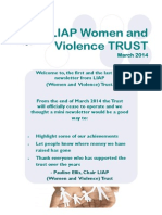 LIAP Trust Newsletter April 2014