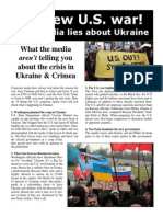 What the Media Aren't Telling You About the Crisis in Ukraine & Crimea