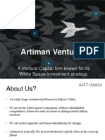 Artiman Ventures - Venture Capital for its white space investment strategy
