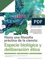 Alfredo Marcos. Especie biológica  y deleiberación ética. Revista_Latinoamericana_Bioetica_19_especie