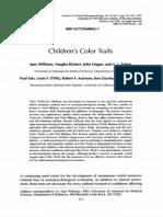 Color Trail Test