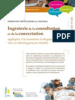 L'IFREE propose une nouvelle formation à l'ingénierie de la consultation et de la concertation appliquée à la transition écologique vers un développement durable