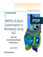 Caea Ansys Ls-dyna Customization Act