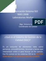 Implementación Sistema ISO 9001 Laboratorios Muñoz