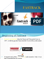 Beginning of Fastrack