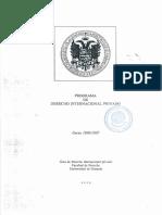 Derecho Internacional Privado 1996.1997