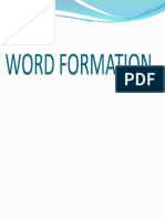 Wordformation Lesson