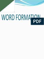 Wordformation Lesson