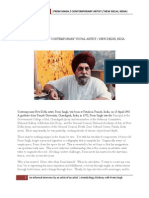 Interview With Artist Prem Singh Reprinted)