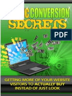 TrafficConversionSecrets Internet Marketing Make Money Home Business