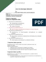 112098095 Proiect Tehnologie Didactica Mecanismul de Distributie