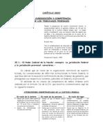 LA JURISDICCIÒN Y COMPETENCIA DE LOS TRIBUNALES FEDERALES