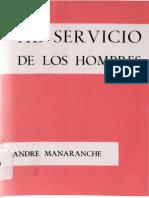23246133 Manaranche Andre Al Servicio de Los Hombres 1