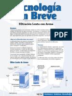 Filtracion Lenta con arena.pdf