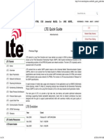 LTE Quick Guide