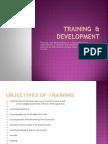 Training & Development Presentation