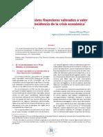Activos y Pasivos Financieros Valorados a Valor Razonable.