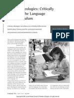 literacy ideologies cadiero-kaplan