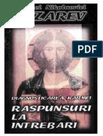 Lazarev Raspunsuri La Intrebari