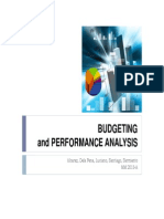 Budgeting to Balance Scorecard