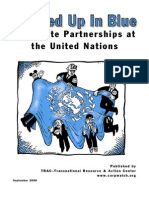 2000-09 - Tangled Up in Blue - Corporate Partnerships at the United Nations