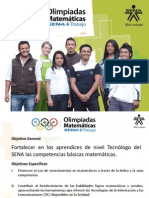 Presentacion Olimpiadas 2014