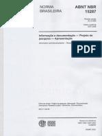 NBR 15287 Projetos