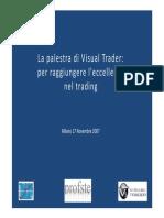 [Trading eBook ITA] Stefano Bargiacchi - Profste - Seminario Simulatore Visual Trader VT5 Profste