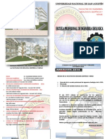 folleto geologia
